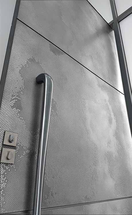 Aluminium Graphite Viper Door
