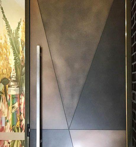 Axolotl Treasury Bronze Combination Door
